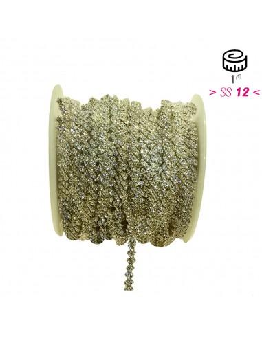 Jewel Strass Chain cm 0,5...
