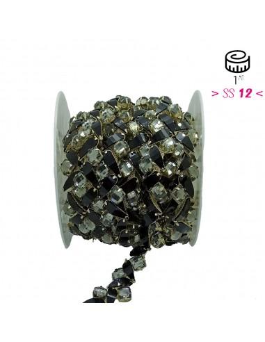 Jawel Strass Chain Crystal-Stone 3 /...