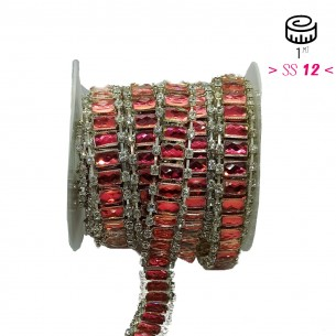Jewel Strass Chain cm 1,8...