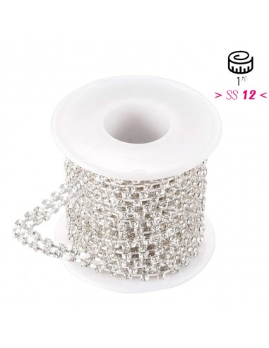 Distant Strass chain 12 ss 2 wire...