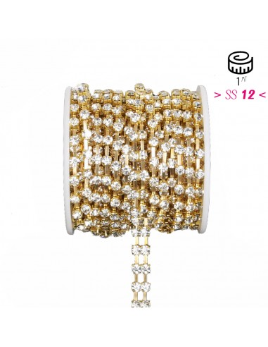 Distant Strass Chain ss 12 with 2...