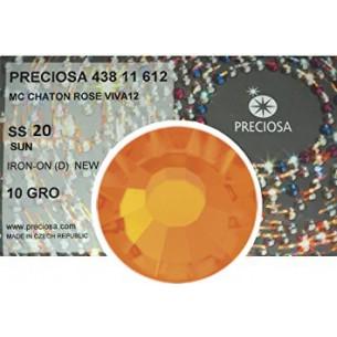 Strass Preciosa Termoadesivi ss 20  Sun - 1440 pz hotfix
