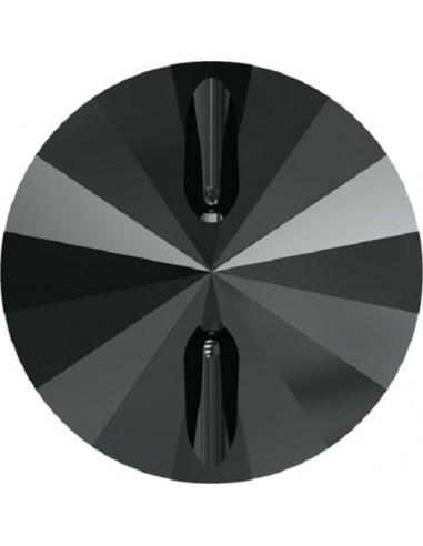 Bottone Swarovski mm 10 Hematite - 1PZ