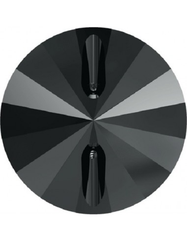 Swarovski Button 10 mm Hematite - 1PC