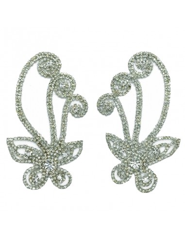 Application Strass pair 9,7x10,1 cm...