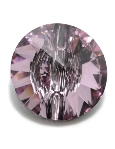 Swarovski Button mm 12 Lt. Amethyst -...