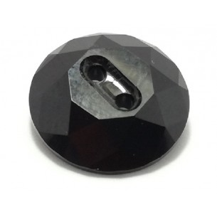 Swarovski Button 14 mm Jet...