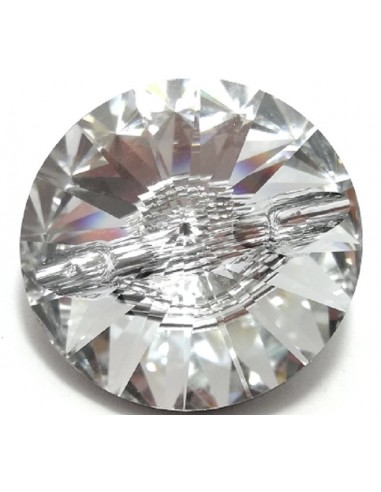 Bottone Swarovski mm 16 Crystal - 1PZ