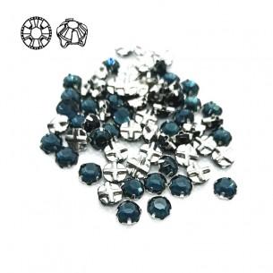 Rosetta GT Crystal ss 12 (mm 3,2) Montana-Silver - 48PZ