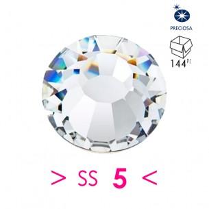Strass Preciosa Termoadesivo ss 5  Crystal - 144PZ hotfix rhinestone