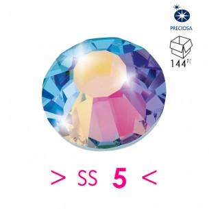 Strass Rhinestones Preciosa Termoadesivo Hotfix  ss 5  Crystal AB - 144PZ