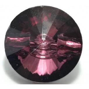 Glass Button 10 mm Bordeaux...