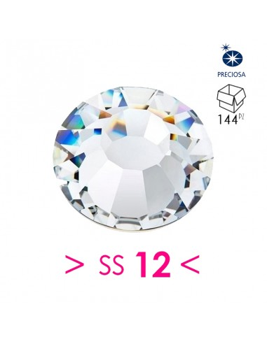 Strass Preciosa Hotfix ss 12 Crystal...