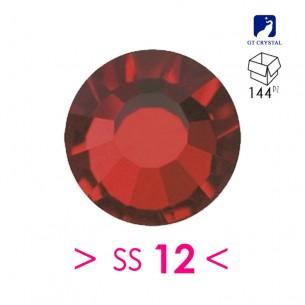 Strass Rhinestones Preciosa Termoadesivo ss 12 Siam - 144PZ Hotfix