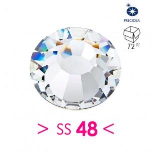 Rhinestones Strass Preciosa Termoadesivo ss 48  Crystal - 72PZ Hotfix