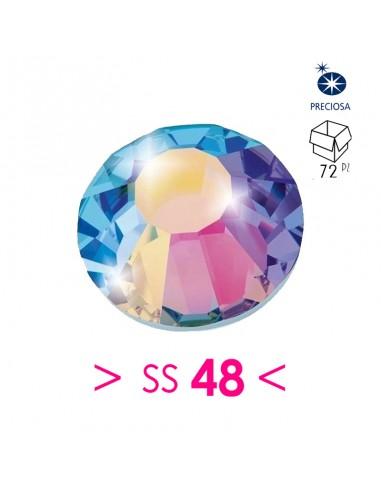 Preciosa Strass Hotfix ss 48 Crystal...