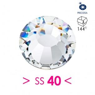 Rhinestones Strass Preciosa Termoadesivo ss 40 Crystal - 144PZ hotfix