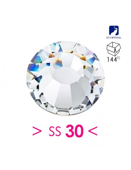 Strass GT Crystal Termoadesivo ss 30 Crystal - 144PZ Rhinestones Hotfix