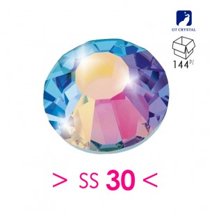Strass GT Crystal Termoadesivo ss 30  Crystal AB - 144PZ  Rhinestones Hotfix