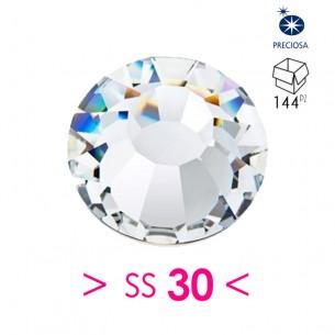 Strass Preciosa Termoadesivo ss 30 Crystal - 144PZ Rhinestones Hotfix