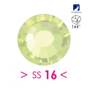 Rhinestones Strass GT Crystal Termoadesivo ss 16 Jonquil - 144PZ Hotfix