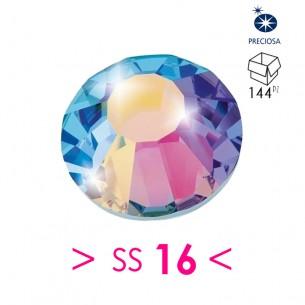 Rhinestones Strass Preciosa Termoadesivo Hotfix ss 16 Crystal AB - 144PZ