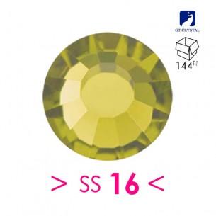 Strass GT Crystal Termoadesivo ss 16 Olivine - 144PZ rhinestone hotfix