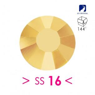 Strass GT Crystal Termoadesivo ss 16 Aurum - 144PZ rhinestone hotfix