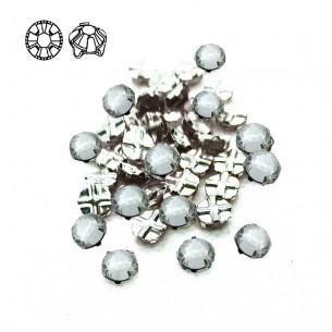 Rosetta GT Crystal ss 10 (mm 2,9) Crystal-Silver - 48PZ