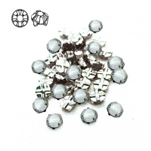 Rosetta GT Crystal ss 12 (mm 3,2) Crystal-Silver - 48PZ