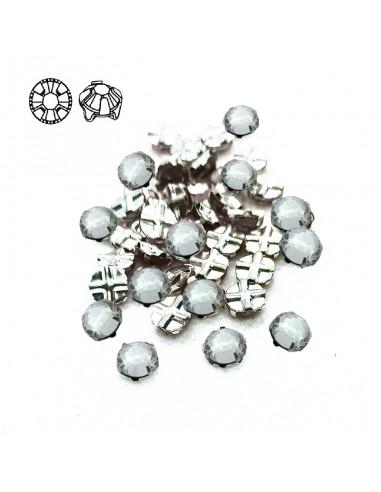 Preciosa Mc rose ss 34 Crystal-Silver...