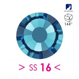 Rhinestones Strass GT Crystal Termoadesivo ss 16 Indicolite - 144PZ Hotfix
