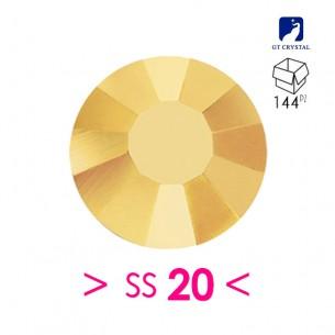 Strass GT Crystal Termoadesivo ss 20  Aurum - 144PZ  Rhinestones Hotfix