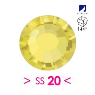 Strass GT Crystal Termoadesivo ss 20  Citrine - 144PZ  Rhinestones Hotfix