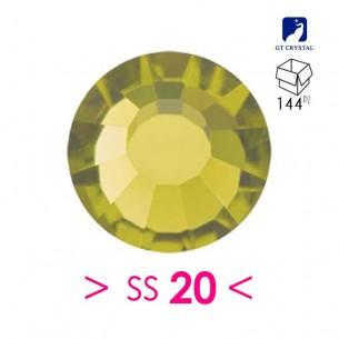 Strass GT Crystal Termoadesivo ss 20 Olivine - 144PZ Rhinestones Hotfix
