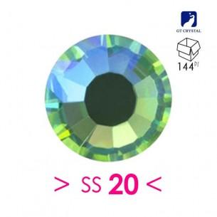 Strass GT Crystal Termoadesivo ss 20 Peridot AB - 144PZ rhinestone hotfix