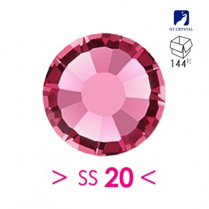 Strass GT Crystal Termoadesivo ss 20 Rose - 144PZ  Rhinestones Hotfix