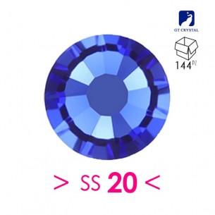 Strass GT Crystal Termoadesivo ss 20  Sapphire - 144PZ Rhinestones Hotfix