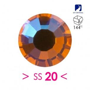 Strass GT Crystal Termoadesivo ss 20 Sun AB - 144PZ Rhinestones Hotfix