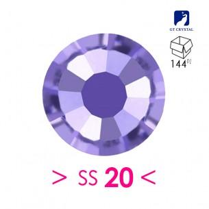Strass GT Crystal Termoadesivo ss 20 Tanzanite - 144PZ Rhinestones Hotfix