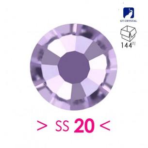 Strass GT Crystal Termoadesivo ss 20  Violet - 144PZ Rhinestones Hotfix