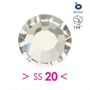 Strass Preciosa Termoadesivo ss 20 Bl. Diamond - 144PZ Rhinestones Hotfix
