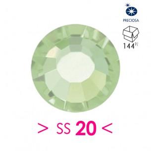 Strass Preciosa Termoadesivo ss 20  Chrysolite - 144PZ Rhinestones Hotfix
