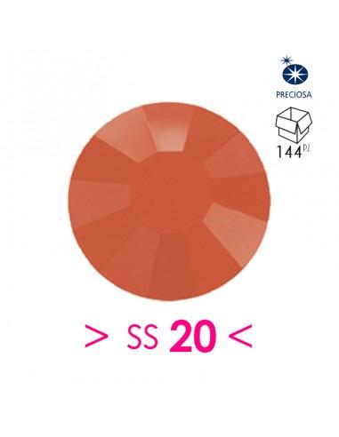 Strass Preciosa Hotfix ss 20  Coral -...