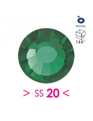 Strass Preciosa Hotfix ss 20 Emerald...