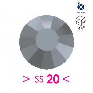 Strass Preciosa Termoadesivo ss 20 Hematite - 144PZ Rhinestones Hotfix