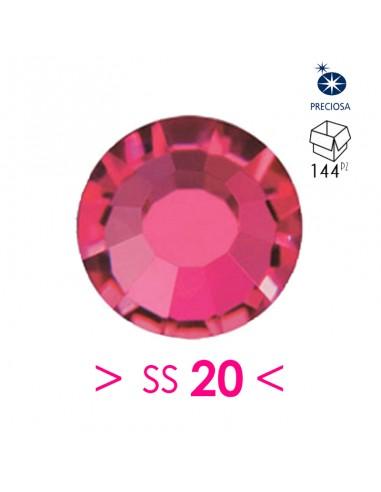 Strass Preciosa Hotfix ss 20 Ruby -...