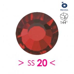 Strass Preciosa Termoadesivo ss 20  Siam - 144PZ Rhinestones Hotfix