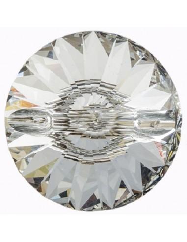 Bottone in Vetro mm 20 Crystal - 1PZ