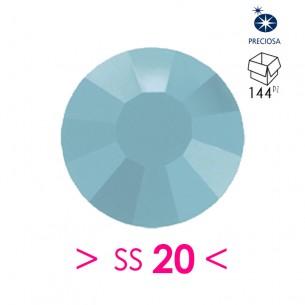 Strass Preciosa Termoadesivo ss 20  Turquoise - 144PZ Rhinestones Hotfix